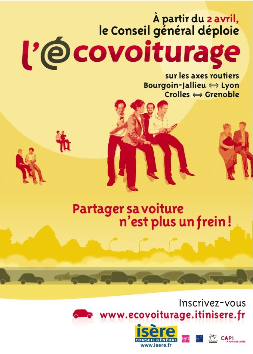 Covoiturage, freins et opportunités : le cas d'E.covoiturage en Isère