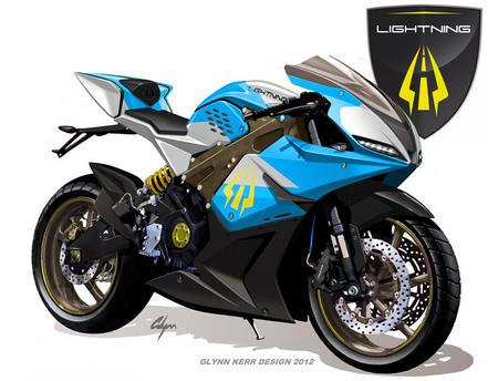 un nouveau record de vitesse pour la moto nergie solaire de lightning motors le blog des. Black Bedroom Furniture Sets. Home Design Ideas